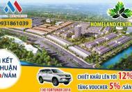 Mở bán Khu Đô Thị Trung Tâm Phố Biển Đà Nẵng - Homeland Central Park