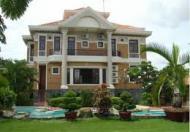 Villa sân vườn hồ bơi cho thuê, diện tích 260m2, giá 42 triệu/tháng