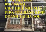 Cho thuê nhà mặt phố Lê Thanh Nghị DT 42m, 5 tầng, MT 4.5m Giá 50 triệu/tháng.(có thương lượng)