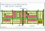 Bán đất biệt thự mặt tiền Nguyễn Lương Bằng KDC Phú Xuân- Vạn Phát Hưng, giá 30 tr/m2. LH:0966.222.151 (Hương)