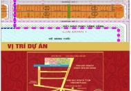 Bán dự án đất nền KĐT Nguyễn Huệ, TX Ngã Bảy, Hậu Giang (giai đoạn 1), giá dự kiến 520tr/nền