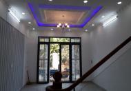 Nhà sổ hồng riêng, 1 trệt 2 lầu, sân thượng, quận 7