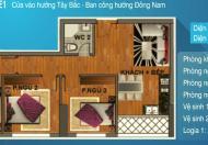 Vợ chồng tôi cần bán gấp chung cư 234 Hoàng Quốc Việt, DT 71m2, ban công ĐN, giá 27tr/m2