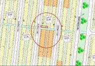 Bán nhanh lô đất kẹp vệt cây xanh Nam cầu Nguyễn Tri Phương, B1.45. 0931453318
