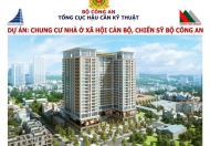 Suất ngoại giao vào tên chỉ 16tr/m2 của dự án NOXH chiến sĩ Bộ Công An 282 Nguyễn Huy Tưởng
