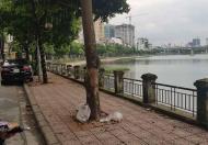 Bán nhà mặt phố Mai Anh Tuấn, View hồ Hoàng Cầu, an sinh đỉnh cao