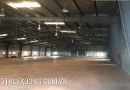 Cho thuê xưởng tại thành phố Thái Bình DT 4010m2 sổ đỏ chính chủ