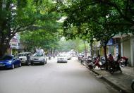 Mặt bằng phố Bà Triệu cho thuê DT 110m2, MT 7.2m, 168tr/th