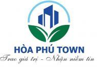 Chỉ còn duy nhất 1 lô góc sát bên công viên đất nền HÒA PHÚ TOWN được chiết khấu 10% .