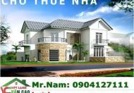 Cho thuê nhà mặt đường Đà Nẵng, 0904127111