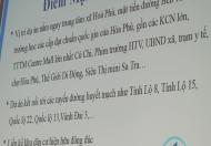 Tình hình đất nền ở khu vực Củ Chi đang sốt trở lại, Hoà Phú Town ra mắt cho nhà đầu tư