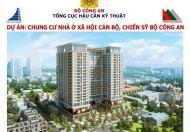 Chung cư nhà ở cán bộ chiến sỹ công an 282 Nguyễn Huy Tưởng giá 16tr/m2, 038.227.6666