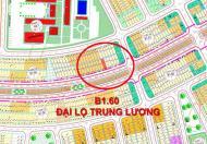 Bán đất mặt tiền Đại Lộ Trung Lương, B1.60,2 làn đường rộng, có lối đi bộ, gần trung tâm thương mại