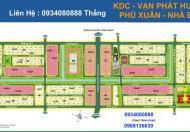 Cần tiền bán gấp nền A4 khu dân cư Phú Xuân Vạn Phát Hưng, giá tốt nhất thị trường
