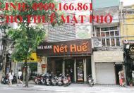 Cực rẻ nhà mặt phố Hàng Bông, quận Hoàn Kiếm. DT 100m2, 5 tầng, MT 6m, giá 70 triệu/tháng