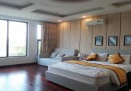 Cho thuê căn hộ dịch vụ tại Trịnh Công Sơn, Tây Hồ, 50m2, studio, đầy đủ nội thất mới hiện đại