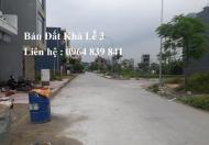 Bán lô đất hướng Đông Bắc, Khả Lễ 3, thành phố Bắc Ninh