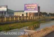 Cho thuê nhà xưởng tiêu chuẩn tại KCN Đình Trám Bắc Giang DT 4520m2 giá hợp lý