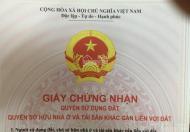 Bán thửa đất sổ đỏ 32m2 tại ngõ 12 đường Quang Trung, Hà Đông, gần trường chuyên Nguyễn Huệ