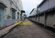Cho thuê kho chứa hàng gấp tại KCN Sóng Thần, 0989 632 124