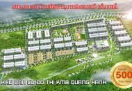 Chỉ với 500 triệu sở hữu ngay ô đất 90m2 siêu đẹp cạnh Quốc Lộ 18A nối Hạ Long với Cẩm Phả, QN