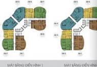 Bán căn Đông Bắc, 3 phòng ngủ tòa N01T8 khu Ngoại Giao Đoàn