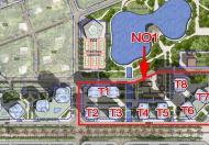 Bán căn góc 133m2, tòa N01-T1, Lạc Hồng 2, Ngoại Giao Đoàn, giá 33 triệu/m2
