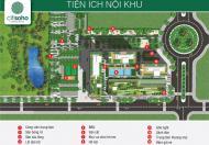 Bán căn hộ 2PN Citi Soho, quận 2, giá 1,3 tỷ, thanh toán 700 triệu, còn lại trả góp