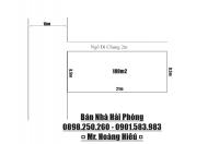 👉🔊💥💥Bán gấp lô đất mặt đường phố 193 Văn Cao, Đằng Lâm, Hải Phòng.