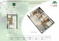 Phá giá thị trường, căn hộ 2 phòng ngủ HH2L Xuân Mai Complex, Dương Nội, giá chỉ 900 triệu