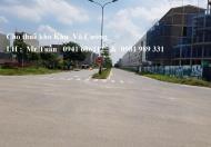 Cho thuê kho nằm trên trục đường chính khu Võ Cường, TP Bắc Ninh