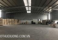 Cho thuê gấp nhà xưởng tại KCN Khai sơn Thuận Thành Bắc Ninh DT 795m2 giá hợp lý