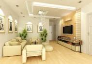 Cho thuê căn hộ 3 phòng ngủ, đủ nội thất, cạnh bến xe Mỹ Đình, 102m2, 12 triệu/tháng
