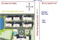 Chính chủ cần bán căn ki ốt tòa V1, V8 dự án The Vesta Phú Lãm, Hà Đông