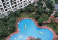 Cho thuê căn hộ có diện tích 139m2, chia 3 phòng ngủ, 1 phòng khách, 2 vệ sinh
