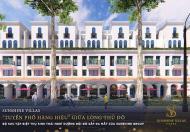 Shophouse dự án Sunshine Wonder Villas