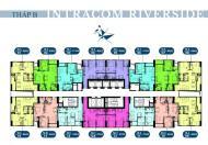 Chị Ngân bán lại căn góc đẹp nhất dự án view sông Hồng tầng 1609 DT: 66m2, giá 20 tr/m2. 0964964059