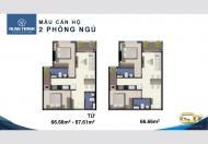 Chung cư Quận 7 Sài Gòn Riverside giá 2 tỷ gồm 2PN, trả góp 4.5%/3 tháng, 0978313503