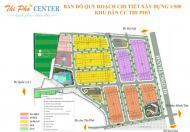 Mở bán GĐ 1 KDC Thi Phổ Center, Quảng Ngãi. Giá 500 tr/132m2, LH 0908728297