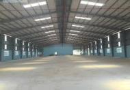 Cần cho thuê 9.000 nhà xưởng kho bãi cụm CN Cầu Treo, Tân Yên, Bắc Giang xây trong 2 tháng