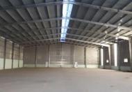 Cho thuê mặt bằng kho 300m2, gần ngã tư Trâu Quỳ, container vào