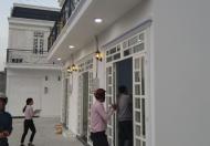 Nhà mới xây liền kề cặp sông gần chợ Thạnh Xuân Q12, DTSD 54m2