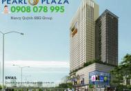 Chỉ với 4,3 tỷ sở hữu ngay CH 2PN cao cấp tại Pearl Plaza, DT 92m2, hotline PKD 0908 078 995
