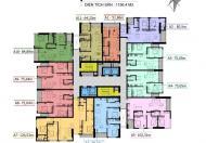 Bán gấp CC Center Point Cầu Giấy, DT 78,19m2, căn 1206, giá 33 tr/m2. LH cô Mai 0944891661