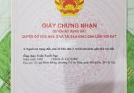Cần bán thửa đất sổ đỏ chính chủ 33m2, phố Trần Đăng Ninh, Hà Đông, đường 12m