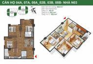 Chính chủ bán gấp chung cư K35 Tân Mai căn 1103 tòa N03B. DT 92m2, giá 22tr/m2, LH: 0936071228