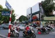 23 tỷ, nhà mặt phố Thợ Nhuộm, quận Hoàn Kiếm, 5 tầng, mặt tiền rộng, vỉa hè rộng đá bóng, KD