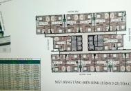 Bán gấp CC 43 Phạm Văn Đồng, căn 1706, tòa CT3, DT 69,8m2, giá 1ty550. LH chính chủ 0962899842
