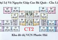 Chuyển nhượng căn chung cư CT2 VCN Phước Hải Nha Trang, căn góc 02 view đẹp, view cầu Lùng