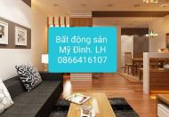 Cho thuê căn hộ 84m2, 3 phòng ngủ, full đồ tại tòa CT5- ĐN3, Mỹ Đình 2. Giá 9 tr/th